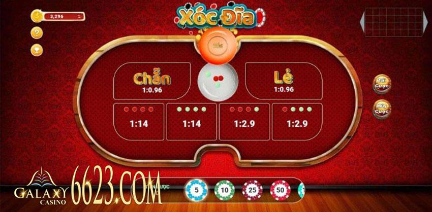 game Xóc đĩa online