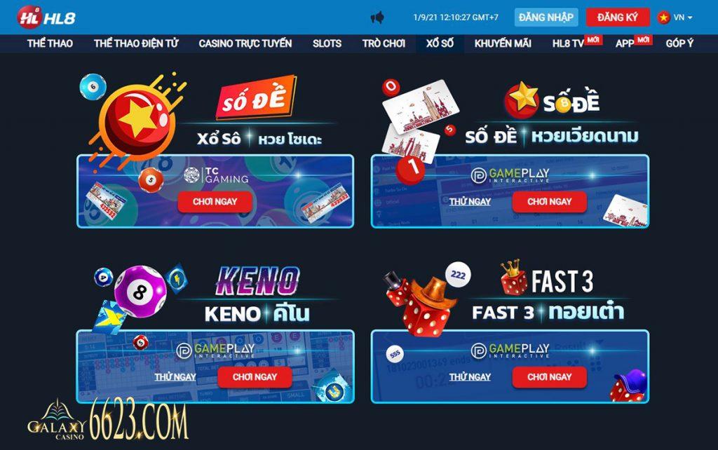 HL8Viet là sân chơi cá cược trực tuyến thú vị