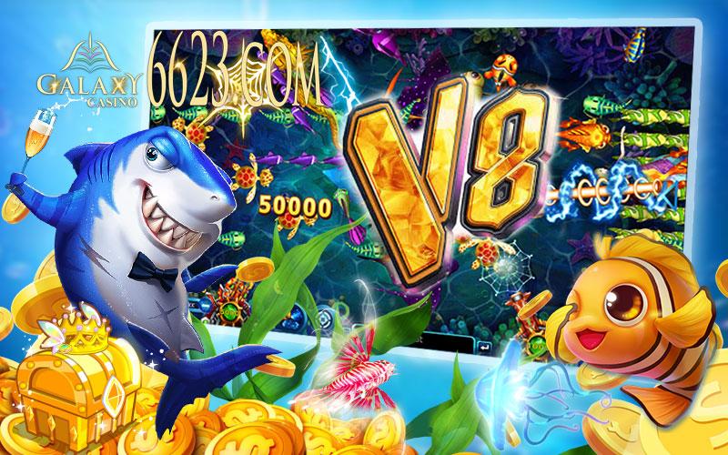 Bắn cá đổi thưởng hấp dẫn V8