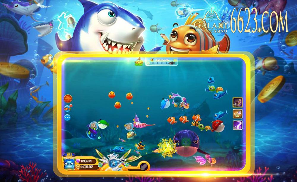 Cách chơi game bắn cá trực tuyến dễ ăn tiền nhất tại 6623