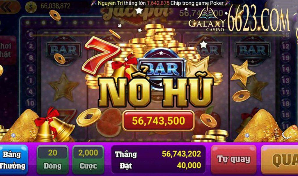 Cách chơi và luật chơi nổ hũ đổi thưởng lớn tại Galaxy 6623