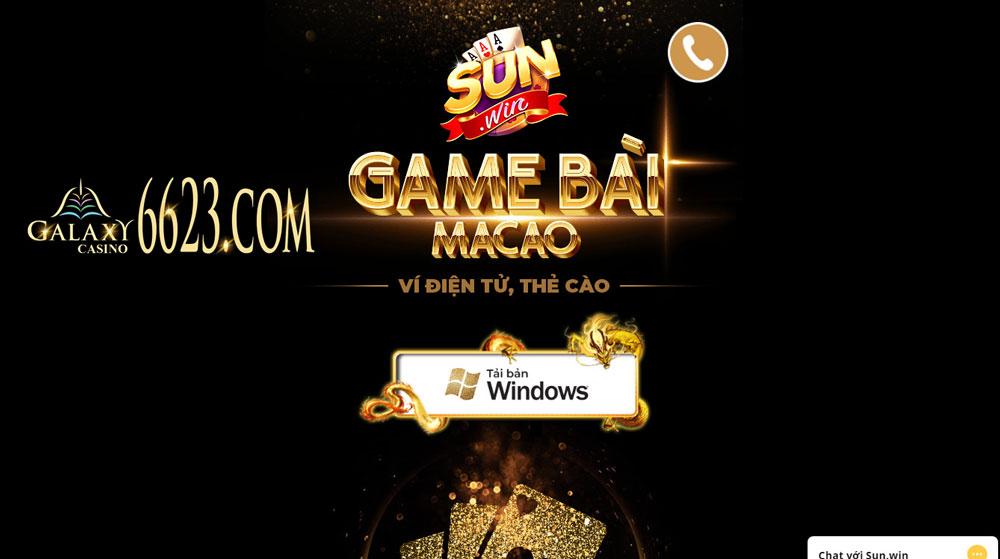 Tải app hoặc truy cập website để chơi game sunwin