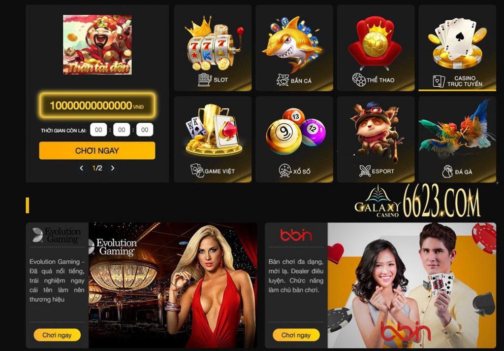 Kho game cá cược trực tuyến hấp dẫn tại nhà cái 888